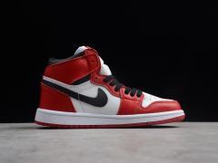 R15 AJ1 白红555088-101童鞋14