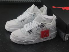 Air Jordan 4 Pure Money AJ4 全白 308497-10013